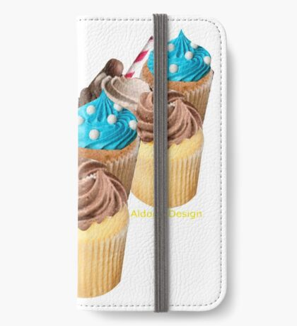 Christmas Cup Cakes (2985 Views) iPhone Wallet