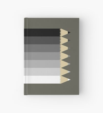 Drawing Pencils Hardcover Journal