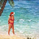 Beach Babe Christmas by Sherry Cummings