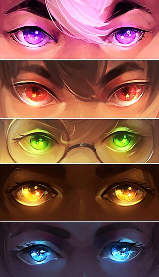 starry eyed: voltron by Lina Nguyen