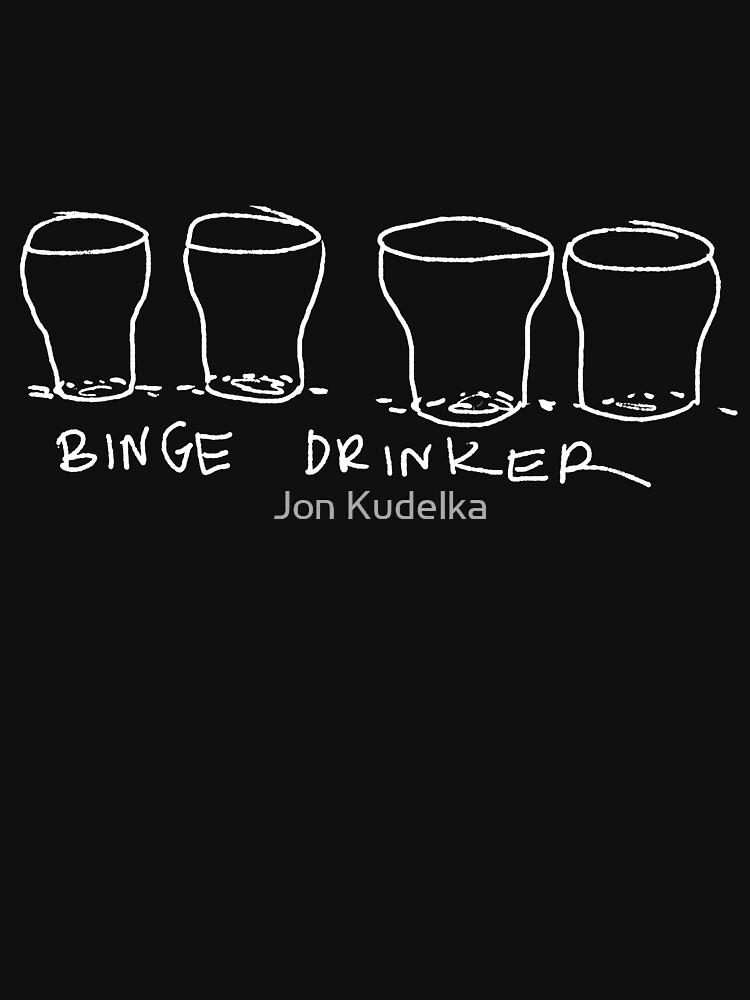 binge drinker by kudelka