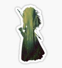 Merida Full Figure Silhouette Sticker