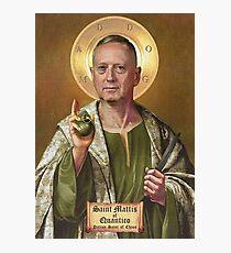 "James ""Mad Dog"" Mattis Photographic Print"