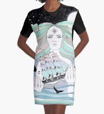 Journey to A Greater Existence (Your Life On Your Hands) Graphic T-Shirt Dress