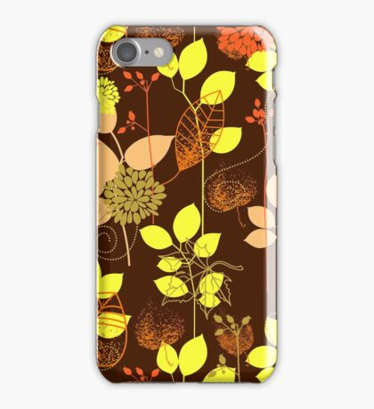 Foliage Copper & Bronze [iPhone / iPod Case and Print] iPhone Case/Skin