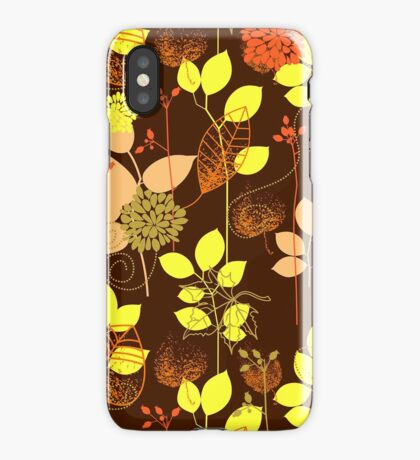 Foliage Copper & Bronze [iPhone / iPod Case and Print] iPhone Case/Skin