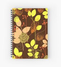 Foliage Copper & Bronze [iPhone / iPod Case and Print] Spiral Notebook