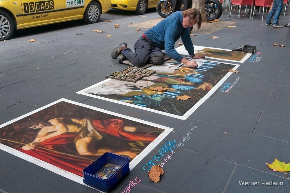 Pavement Artist by Werner Padarin