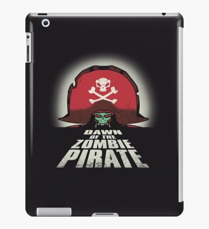 Dawn of the Zombie Pirate iPad Case/Skin