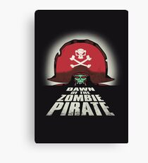 Dawn of the Zombie Pirate Canvas Print