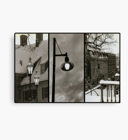 Bethlehem Winter Canvas Print