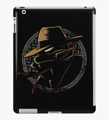 Undercover Ninja Raph iPad Case/Skin