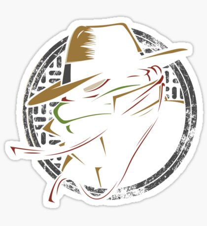 Undercover Ninja Raph Sticker