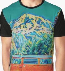 Hilda visits Mount Rainier Graphic T-Shirt