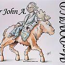 Sir John A. MacDonald (Version 2) by Byron  McBride