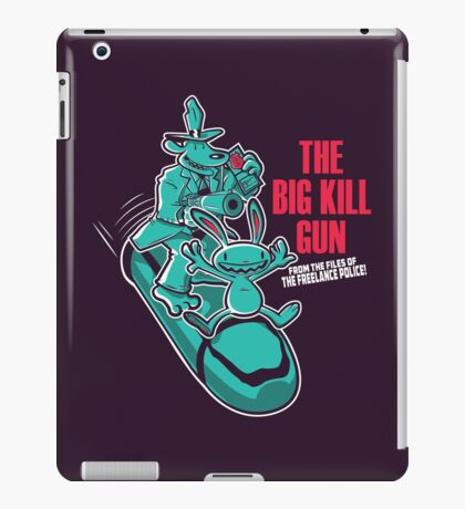 The Big Kill Gun iPad Case/Skin