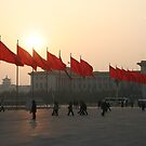The red flags of Tiananmen by James Godber