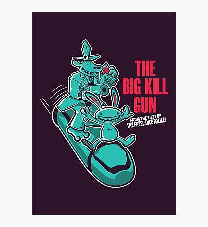 The Big Kill Gun Photographic Print