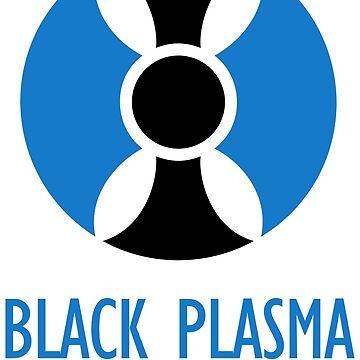 BPS Logo w/ Text (Black) by black-plasma