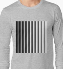 pattern with black and white stripes T-Shirt