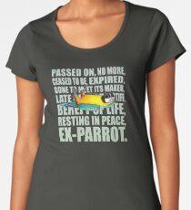 Camiseta premium de cuello ancho EX - Loro