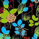 Foliage RGB [iPhone / iPod Case and Print] by Didi Bingham