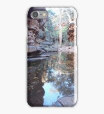 Tranquil pool in a gorge iPhone Case/Skin