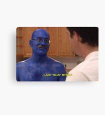 Tobias Funke Blue Himself Canvas Print
