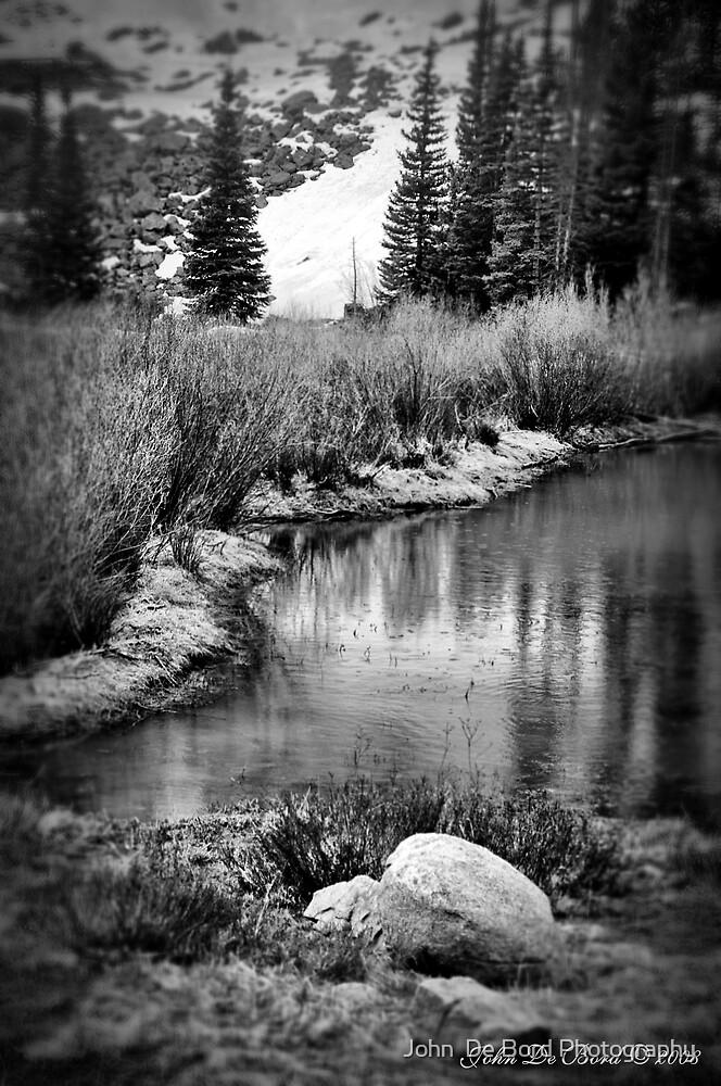 Jones Pass Mining Lakes by John  De Bord Photography