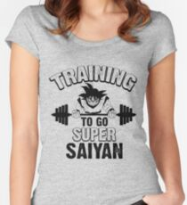 training to go Women's Fitted Scoop T-Shirt