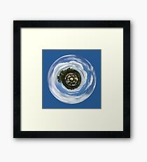 My Planet Framed Print