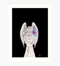 Weeping valentine Art Print