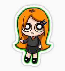 Ginny Weasley chibi sticker Sticker