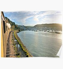 Dartmouth from the train Poster