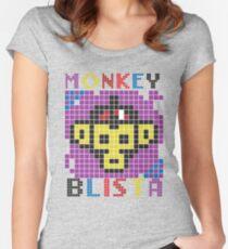 Monkey Blista Mosaic Women's Fitted Scoop T-Shirt