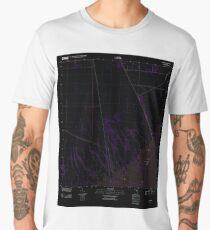 USGS TOPO Map Florida FL Glades 20120726 TM Inverted Men's Premium T-Shirt