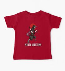 Ninja Unicorn Fighter Funny Martial Arts Cool Karate Kids Clothes