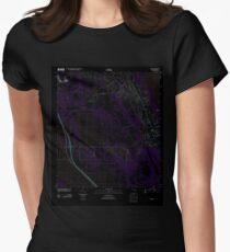 USGS TOPO Map Florida FL Gomez 20120726 TM Inverted T-Shirt