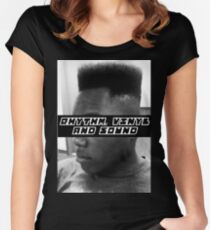 Rhythm, Vinyl and Sound Women's Fitted Scoop T-Shirt