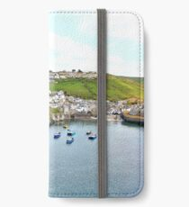 Port Isaac harbour iPhone Wallet