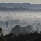 Spire in the mist by shaynetwright