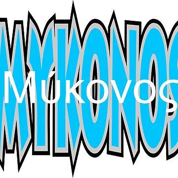 Mykonos by robelf