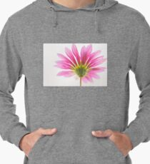 Soft focus Macro of a Gerbera pink flower Lightweight Hoodie