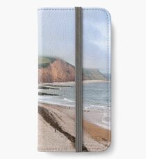 Sidmouth coastal town in Devon iPhone Wallet