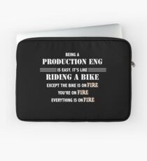 BEING A PRODUCTION ENG Laptop Sleeve