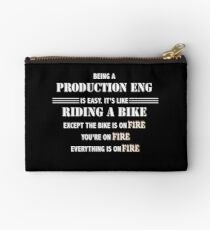 BEING A PRODUCTION ENG Studio Pouch