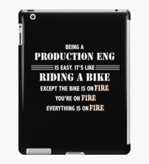 BEING A PRODUCTION ENG iPad Case/Skin