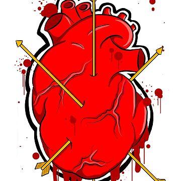 Arrow Heart by aartliner