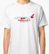 Boeing B787-9 - Virgin Atlantic Airways Classic T-Shirt