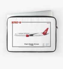 Boeing B787-9 - Virgin Atlantic Airways (Art Print) Laptop Sleeve